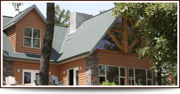 Timbermill Simulated Cedar Log Vinyl Siding